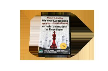 1 Mitschnitt-DVD der Live-Show »Wie neue Kunden dank optimaler Positionierung vermehrt automatisch zu Ihnen finden«